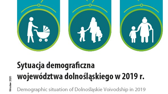 Slider of the publication Demographic situation of Dolnoslaskie Voivodship in 2018