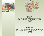 Prices in the Euroregion Nysa 2015 Foto