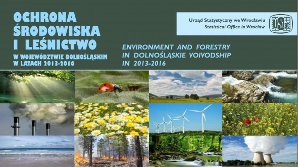 Environmental protection and forestry in Dolnośląskie Voivodship in 2013-2016